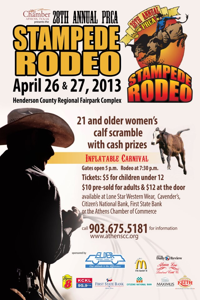 28th Annual Prca Stampede Rodeo Kicks Off Tonight My