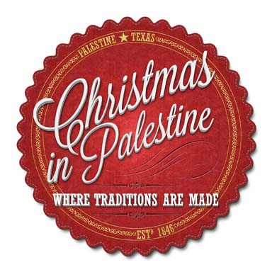 Christmas In Palestine Badge