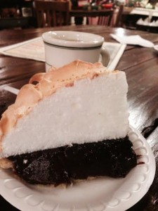 Oxbow Chocolate Meringue Pie