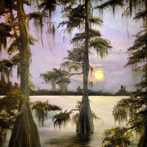 Caddo Painting