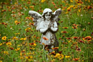 Galveston City Cemetery Angel_2016_